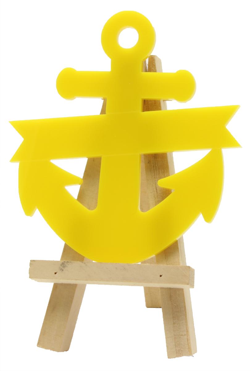 acryliccraft com - Blank Anchor Banner - 100mm - Acrylic