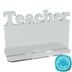 Freestanding+Name+Plaque+-+Teacher+-+Tealight+-+Acrylic