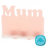 Freestanding+Name+Plaque+150mm+-+Mum+-+Tealight+-+Acrylic