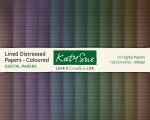 Lined+Distressed+Papers-Coloured-Digital+Papers